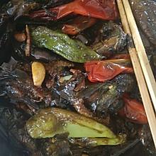 酱油尖椒茄子小咸菜