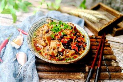豆豉蒸排骨--快手营养蒸菜