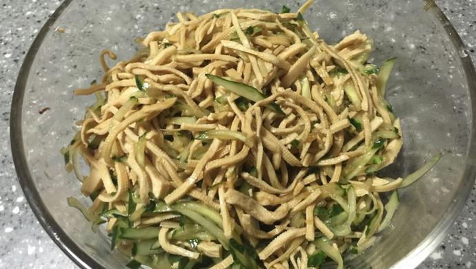 #菁选酱油试用之拌好滋味黄瓜豆腐丝