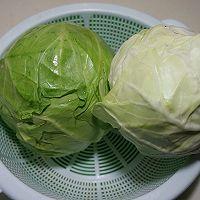 圆白菜猪肉饺子的做法图解2