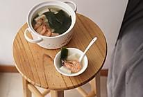 清热解暑的鲜虾海带豆腐汤的做法