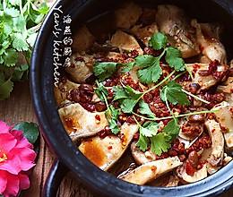 豆豉砂锅鱼的做法
