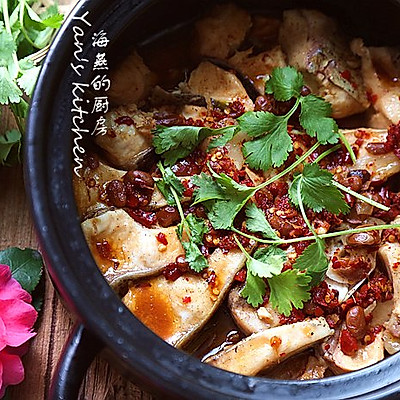 豆豉砂锅鱼