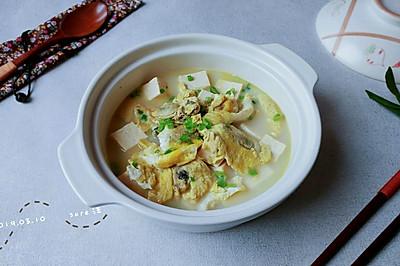 牡蛎油蛋熬豆腐
