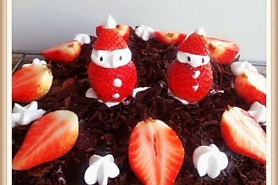 圣诞黑森林蛋糕#九阳烘焙剧场#