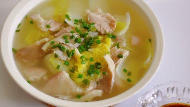连锅汤的做法