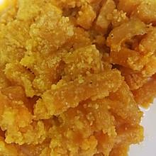 糖尿病人可以吃的蛋黄焗南瓜