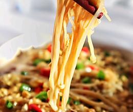 简单易上手,味道超棒的蒜蓉烤金针菇的做法