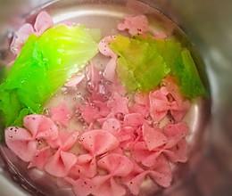火龙果面条 #快乐宝宝餐#的做法