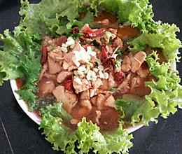 简单好吃的水煮肉(生菜,鸡胸肉)的做法