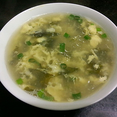 大喜大牛肉粉试用之紫菜蛋花汤的做法 步骤6
