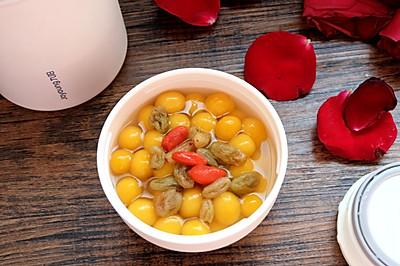 南瓜糯米圆子甜汤