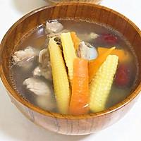 玉米笋红萝卜骨头汤
