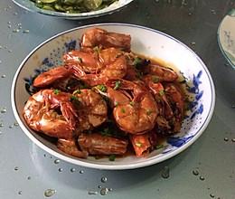 油闷大明虾的做法