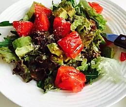 意大利风味油醋蔬菜色拉(附自制油醋汁配方)的做法