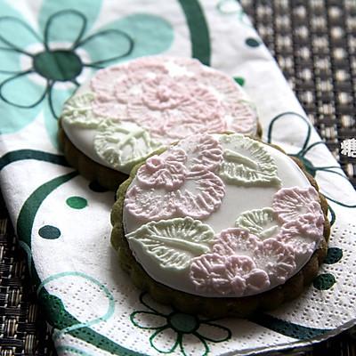 【刷绣饼干】在饼干上绣花儿
