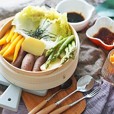 蒸箱菜|四季百变健康蒸时蔬