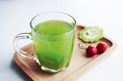 蜂蜜苦瓜汁#豆果魔兽季邪能饮料#
