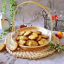 黑芝麻薄脆饼干#换着花样吃早餐#