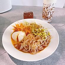 #营养小食光#韩式拌面|面非面