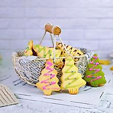 #相聚组个局#巧克力糖珠圣诞饼干