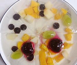 水果缤纷白凉粉的做法