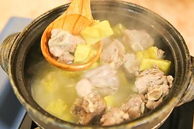 苦瓜排骨汤|二叔食集