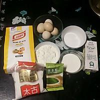 自制电饭锅抹茶蛋糕的做法图解1