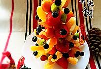 水果跟圣诞更配哦——水果圣诞树的做法