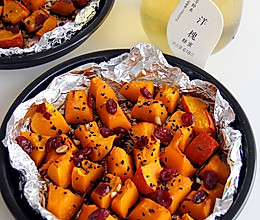 #等蜂来纯天然原蜜#蜜烤南瓜的做法