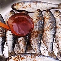 #带着零食去旅行!#干炸海鲫鱼的做法图解9
