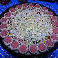 客浦TO5330烤箱------花边萨拉米肠披萨的做法图解20