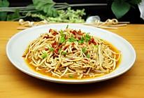 剁椒炒金针菇的做法
