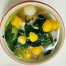 自制蔬菜汤圆