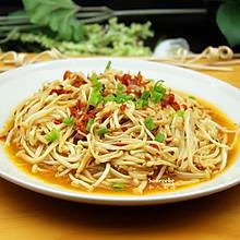 剁椒炒金针菇