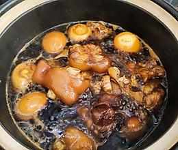 猪脚姜醋蛋,冬日甜甜暖胃的做法
