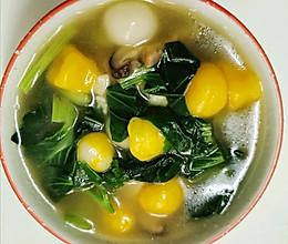 自制蔬菜汤圆的做法