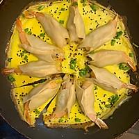 抱蛋鲜虾煎饺的做法图解16