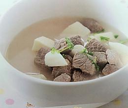 牛肉炖山药---强壮筋骨汤的做法