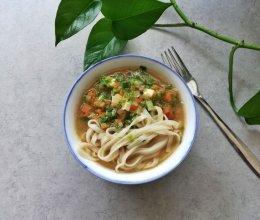 蔬菜汤面条|宝宝辅食的做法