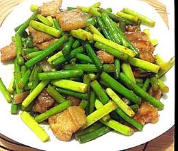 肉炒蒜薹(肉炒蒜苔)的做法