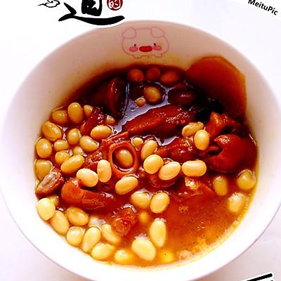 黄豆炖猪蹄的做法 步骤7