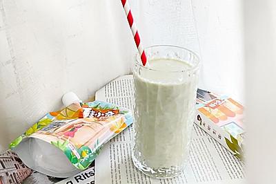 0卡糖牛油果奶昔