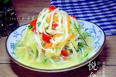 凉拌金针菇~简单开胃的快手凉菜