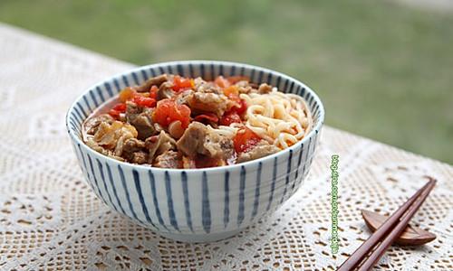 番茄牛肉面的做法