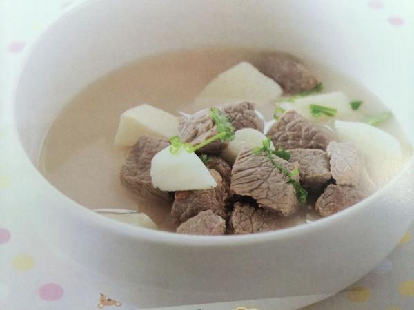 牛肉炖山药---强壮筋骨汤