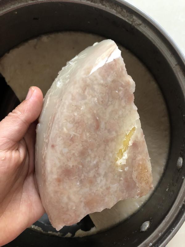 晶莹剔透猪皮冻的做法