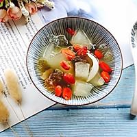 桃胶雪梨百合枸杞糖水#做道好菜,自我宠爱!#的做法图解14