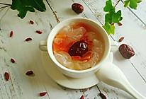 #春季减肥,边吃边瘦#木瓜银耳羹的做法