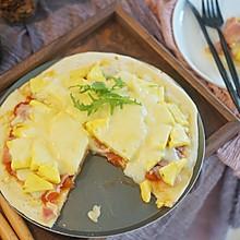 夏威夷披萨|和菠萝咕咾肉相提并论的黑暗料理#硬核菜谱制作人#